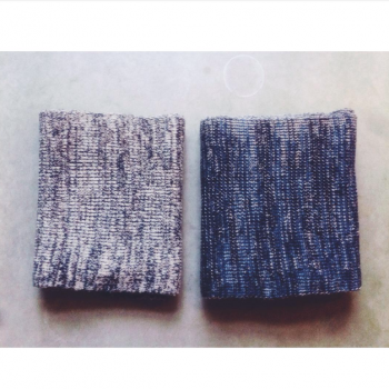 Anne Lindberg knitted scarfs AW15 02