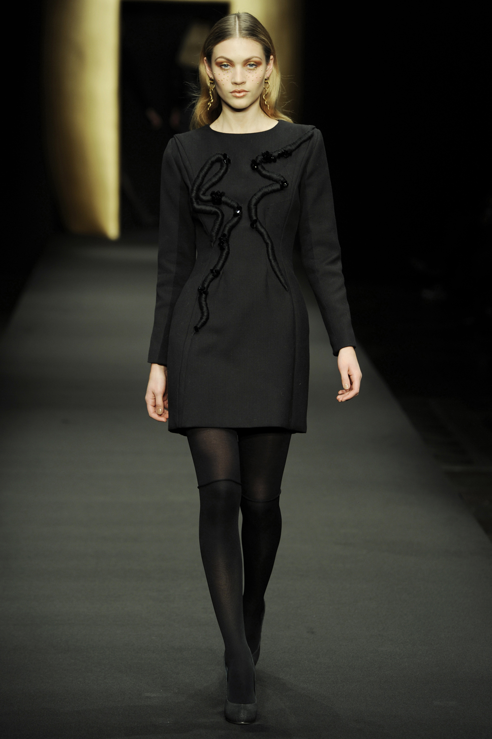 Anne Lindberg Showpiece for Stine Goya AW12